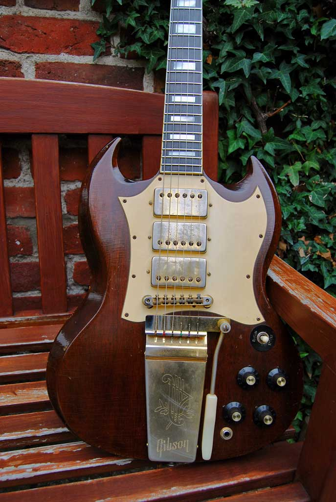 gibson sg custom - 1969