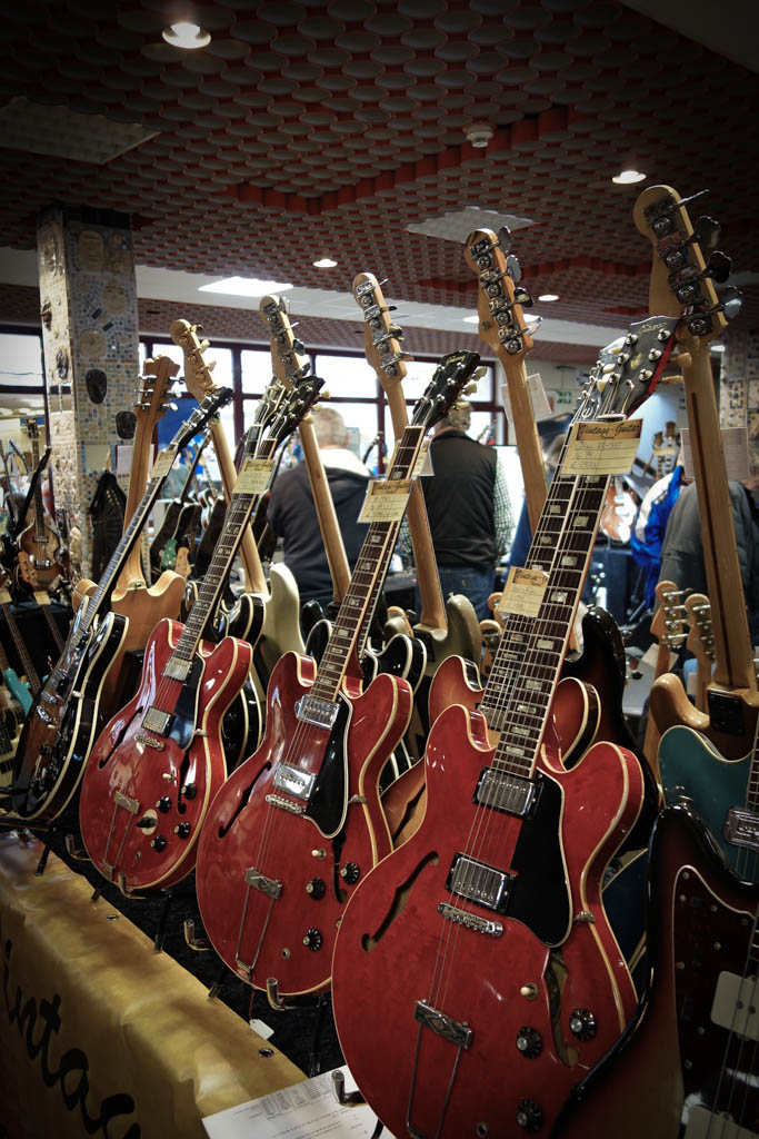 vintage guitar show oldenurg 2013 - gibson es's 60ties