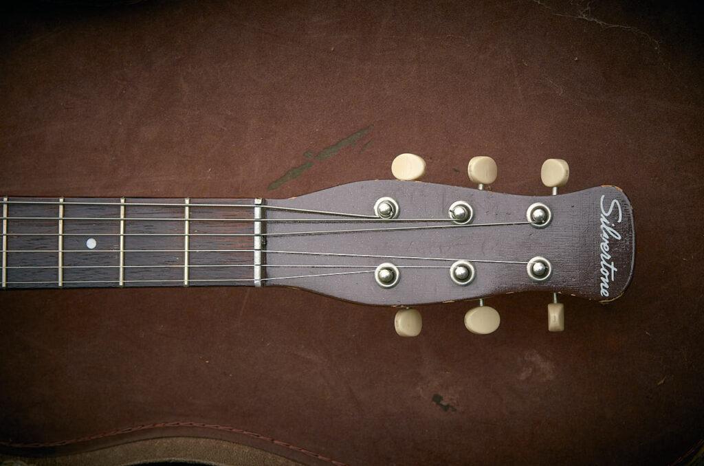 silvertone 1304 1961 headstock