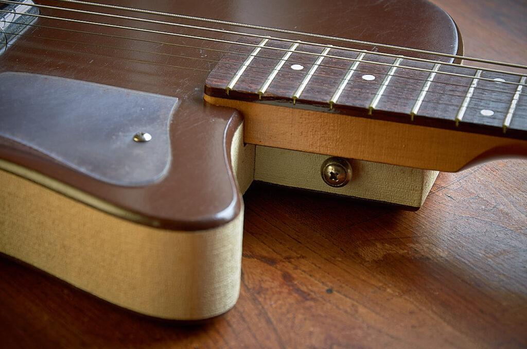 silvertone 1304 1961 neck join