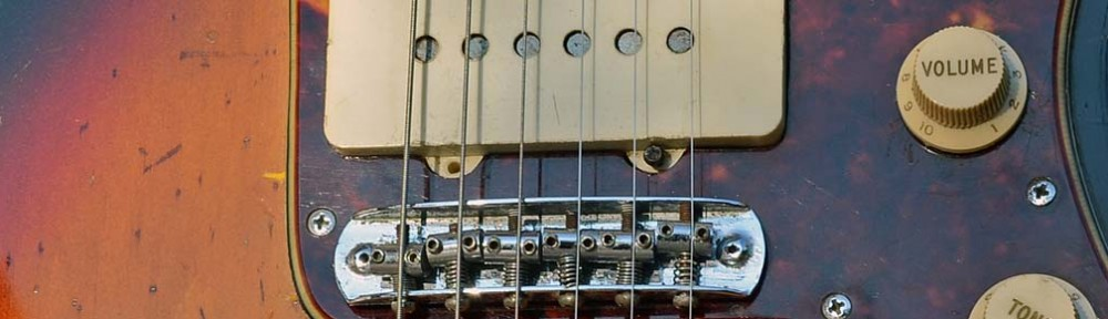 fender jazzmaster bridge - 1962