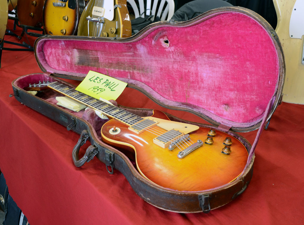 vintage guitar show veenendaal 2011 - gibson les paul 1959