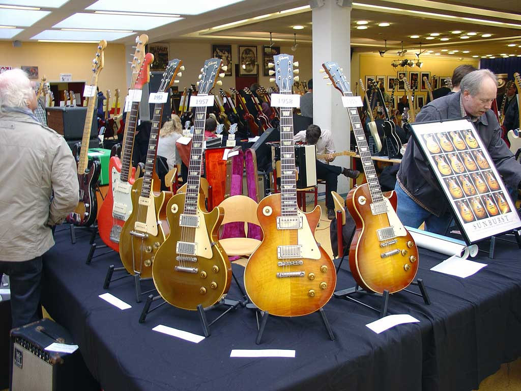 vintage guitar show oldenburg 2010 - tom wittrock